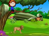 Игра Побег маленькой девочки 4