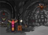 Игра Выйти из пещеры