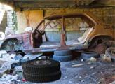 Игра Побег из заброшенного гаража
