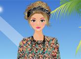 Игра Цветочный наряды для девушки