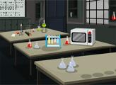 Игра Побег из химической лаборатории