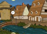 Игра Побег из фантастического средневекового посёлка