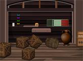 Игра Побег из домика-бочки