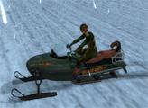 Игра Гонки в снежную бурю