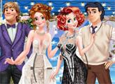 Игра Винтажная двойная свадьба