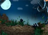 Игра Побег из мрачного лунного леса