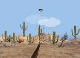 Игра Стрельба по тарелкам в пустыне