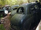 Игра Побег с автомобильного кладбища