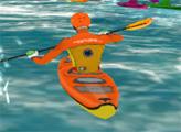 Игра Водная гонка на каноэ