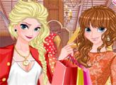 Игра Весенний шопинг принцесс