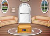 Игра Побег из круглой гостинной