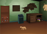 Игра Побег через собачью дверь