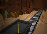 Игра Побег с золотого рудника
