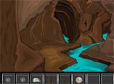 Игра Пебег из пещеры злого змея