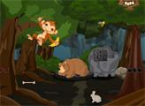 Игра Спасение заложника в тайном лесу