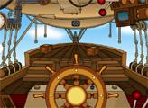 Игра Побег с корабля стимпанка