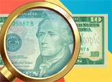 Игра Детектор денег: Доллары