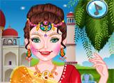 Игра Индийская красавица в салоне красоты