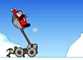 Игра SlingShot Santa!!! A Christmas cannon
