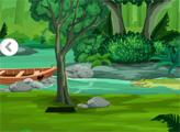 Игра Побег из крокодиловой реки