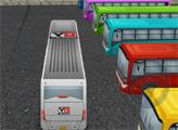 Игра Автобусная парковка