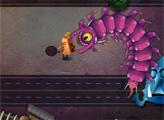 Игра Сумасшедший змей пришелец