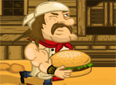 Игра Сумасшедший Бургер 3: Дикий Запад