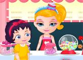 Игра Малышка Барби в магазине сладостей