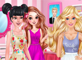 Игра Барби отрывается с подружками