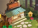 Игра Побег из деревянного дома