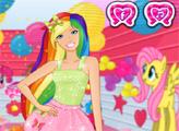 Игра У Барби встреча с девочками из Эквестрии