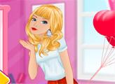 Игра Барби - леди в красном