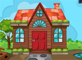 Игра Побег из домика в саду
