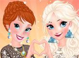Игра Анна и Эльза: Ночная вечеринка