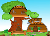 Игра Побег из дома на дереве