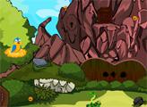 Игра Побег из горной пещеры