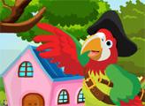 Игра Спаси пиратского попугая