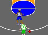 Игра Баскетбол на пол корта
