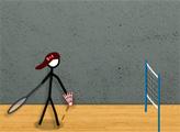Игра Бадминтон на палочке 2