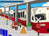 Игра Побег девушки из поезда