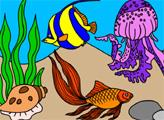 Игра Подводный мир рыбок 2