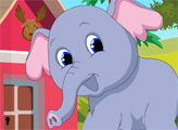 Игра Побег милого слона