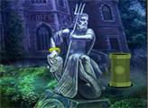 Игра Побег из заброшенного дворца статуй