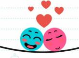 Игра Влюбленные шары