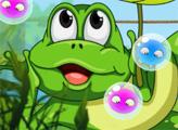Игра Супер пузыри с лягушкой