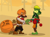 Игра Зомби против Хэллоуина