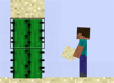 Игра Бумажный Майнкрафт 2Д