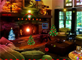 Игра Найти Рудольфа на Рождество