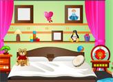 Игра Мини побег - детская спальня