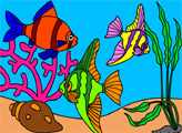 Игра Подводный мир рыбок 4